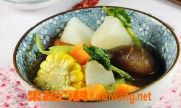 果蔬百科五行蔬菜汤的功效有哪些